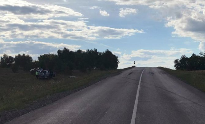 В Башкирии погибла пассажирка опрокинувшейся иномарки (1)