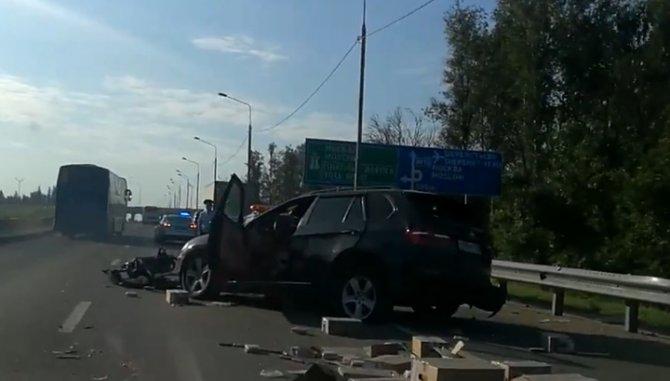 Два человека пострадали в ДТП в Солнечногорском районе Подмосковья
