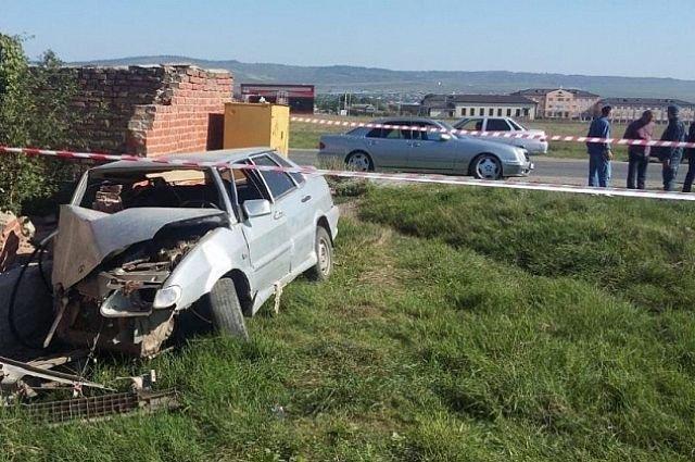 Пьяный водитель насмерть сбил женщину и покалечил членов своей семьи в ДТП в Ингушетии