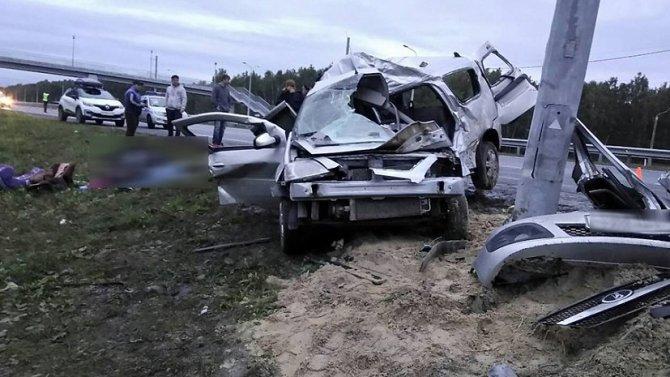 Семья погибла в ДТП под Челябинском (1)