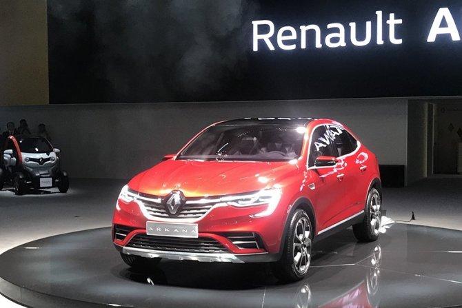 Renault Arkana на ММАС-2018 3