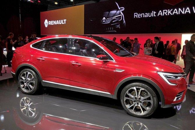 Renault Arkana на ММАС-2018 2