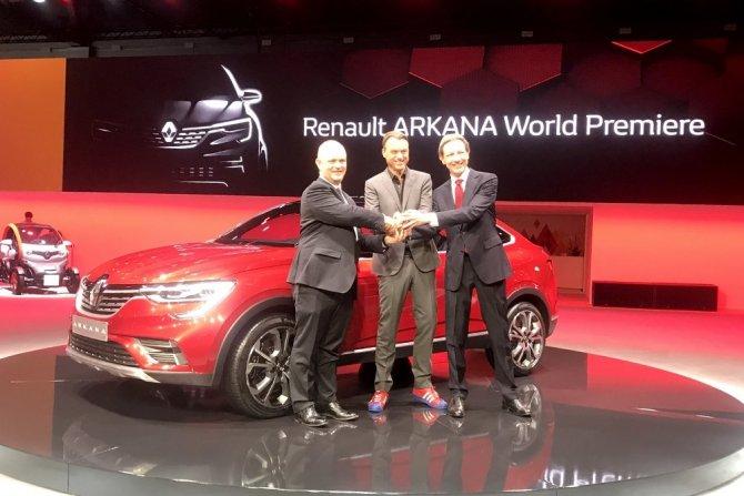 Renault Arkana на ММАС-2018 10