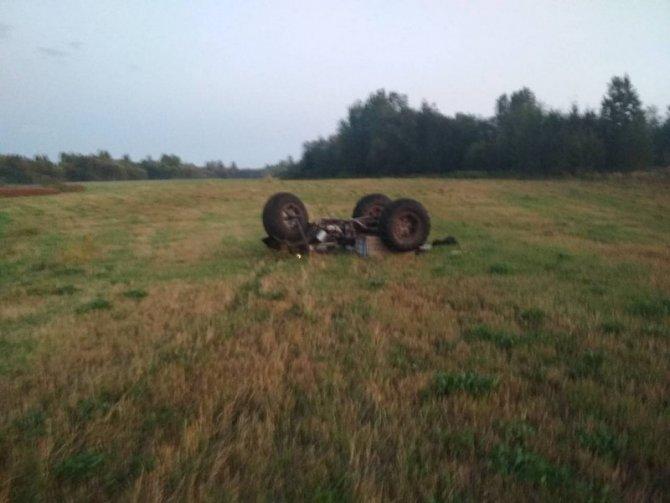 В Свердловской области опрокинулся самодельный болотоход – погиб ребенок (2)