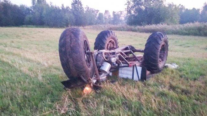 В Свердловской области опрокинулся самодельный болотоход – погиб ребенок (1)