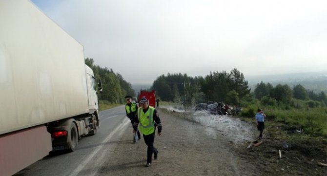 В массовом ДТП в Челябинской области погиб человек