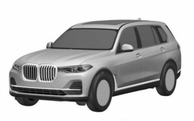 Дизайн нового BMW X7 рассекретили в Сети