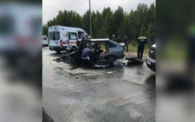 Под Нижневартовском в ДТП погиб человек