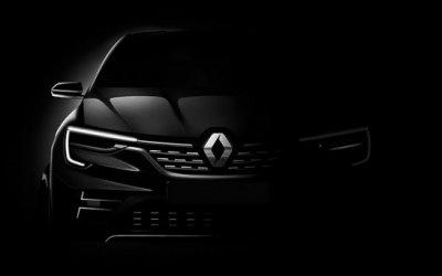 Renault показали тизер нового кроссовера, который будет производиться в России