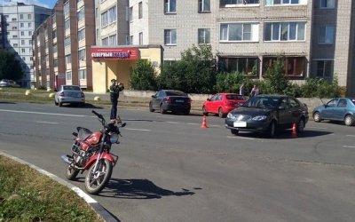 13-летний мотоциклист пострадал в ДТП в Череповце