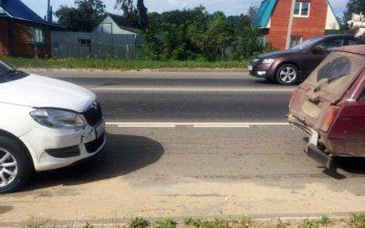 Младенец пострадал в ДТП в Туле
