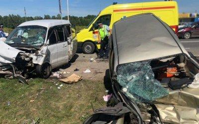 Один человек погиб и пять пострадали в ДТП в Томской области