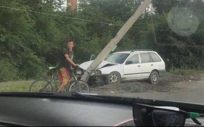 В Белогорске 12-летний пьяный мальчик устроил ДТП
