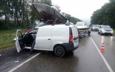 В Кировском районе Ленобласти в ДТП погиб человек