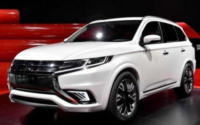 Mitsubishi выпустит рестайлинговую версию Outlander для России