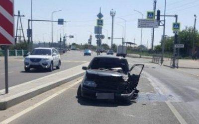 В ДТП в Волгограде пострадали два водителя