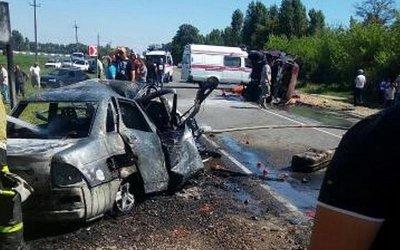 Двое взрослых и подросток погибли в ДТП на Кубани
