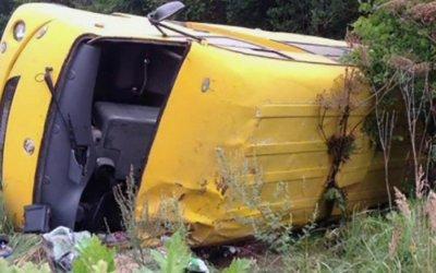 9 человек пострадали в ДТП с автобусом в Калужской области