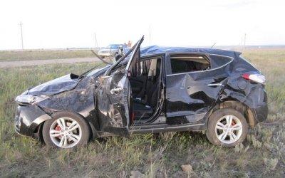 6-летний ребенок погиб в опрокинувшейся машине на Южном Урале