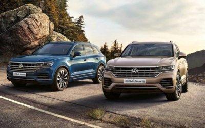 Фирменный стиль и новые опции: премьера нового Volkswagen Touareg