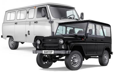 УАЗ планирует выпустить экспедиционные версии «Буханки» иУАЗ Hunter