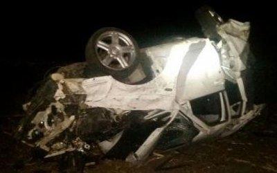 Молодой водитель погиб вопрокинувшейся машине вНовокубанском районе