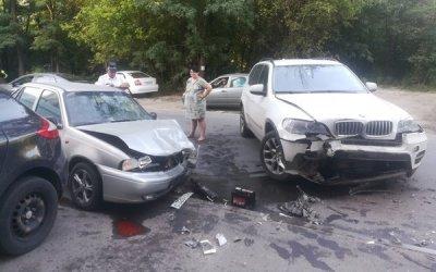 Мужчина итрое детей пострадали вДТП вРостове-на-Дону