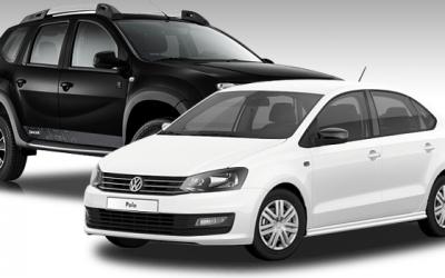 Volkswagen Polo и Renault Duster возглавили топ-10 продаж европейских марок в России