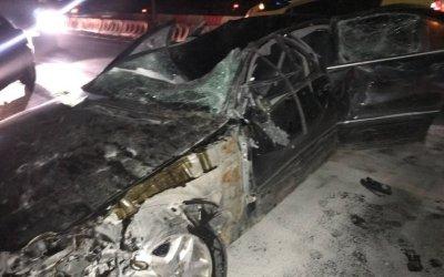 В ДТП на Московском шоссе погиб человек