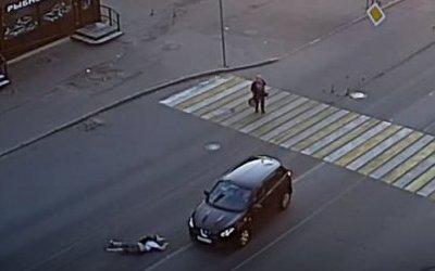 Женщина-водитель сбила пешехода в Петрозаводске