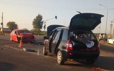 Три человека пострадали в ДТП под Тамбовом