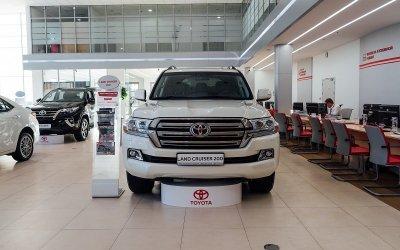 Повелитель бездорожья! Специальное предложение на Toyota Land Cruiser 200