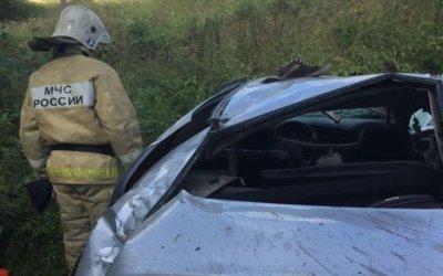 В Тверской области иномарка съехала в кювет – водитель погиб