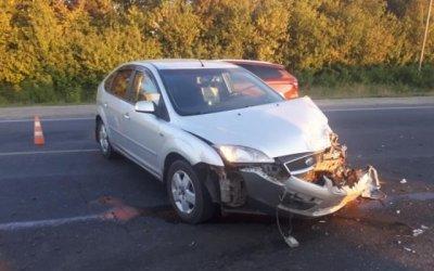 Женщина пострадала в ДТП в Рассказовском районе
