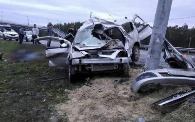 Семья погибла в ДТП под Челябинском