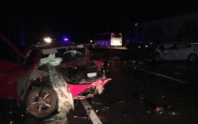 Два человека погибли в ДТП в Тосненском районе