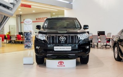 Ваша абсолютная уверенность с Toyota Land Cruiser Prado