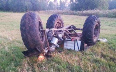 В Свердловской области опрокинулся самодельный болотоход – погиб ребенок