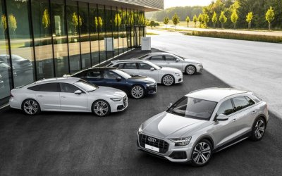 Безупречный Audi Q8 и новая линейка полноразмерных автомобилей бренда