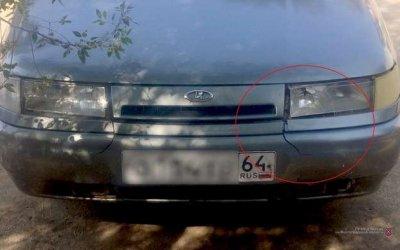 В Волгограде 17-летний водитель сбил девушку и скрылся