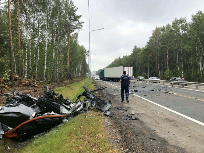 22-летний водитель погиб в ДТП под Нижним Новгородом (1)