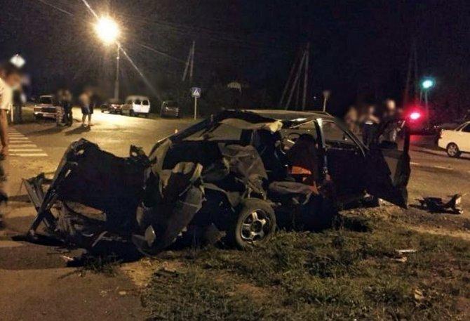 21-летний мотоциклист погиб в ДТП в Курганинске (2)