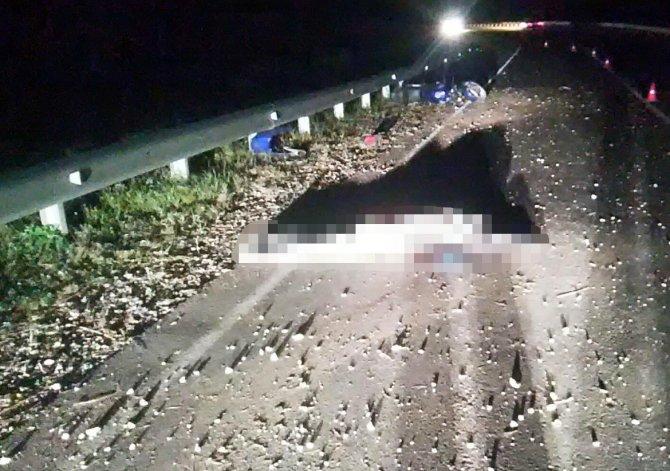 Молодой мотоциклист погиб в ДТП в Узловском районе Тульской области