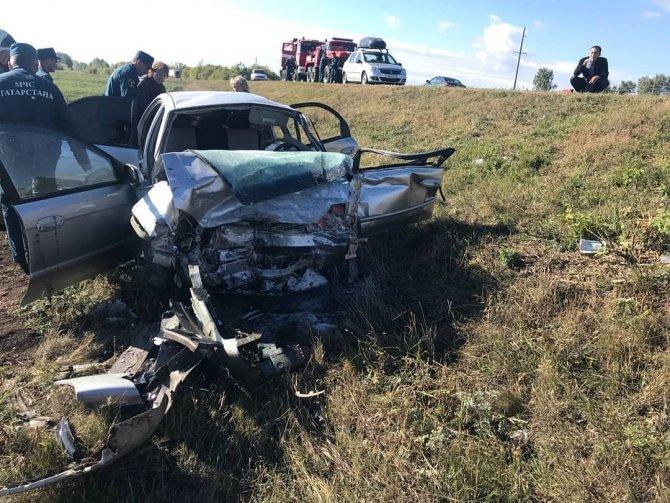 Два человека погибли в ДТП в Бавлинском районе Татарстана (2)