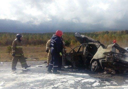 Три человека погибли в ДТП на М-5 в Челябинской области (2)