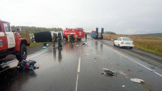 Три человека погибли в ДТП на М-5 в Челябинской области (1)