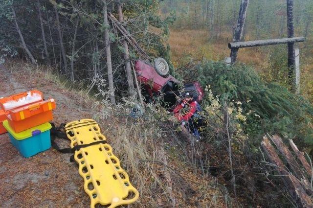 Водитель ВАЗа погиб в ДТП в Карелии