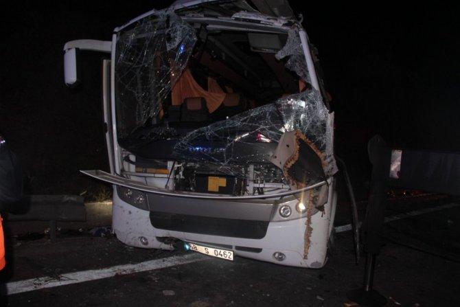 В Турции перевернулся автобус со школьниками 3