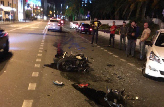 Мотоциклист погиб в ДТП в Сочи (2)