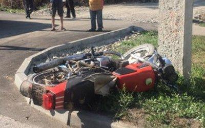 В ДТП в Бийске погиб мотоциклист